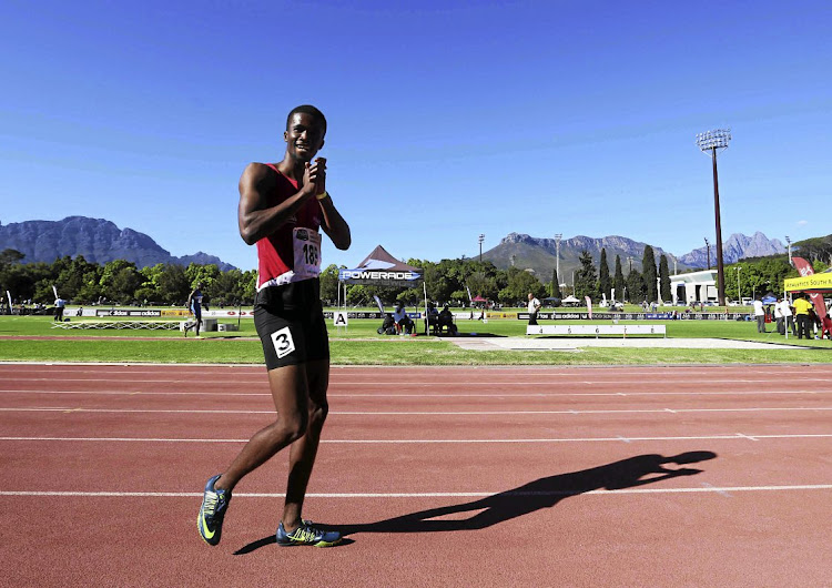 Anaso Jobodwana is back in the groove.