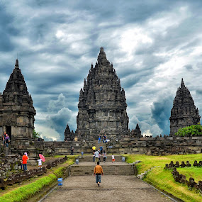 Prambanan Temple by Adang Yusuf - Buildings & Architecture Statues & Monuments