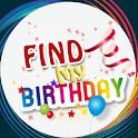 Find My Birthday icon