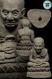 ลป.ทวด อ.นอง วัดทรายขาว รุ่นครบรอบ 80 ปี พิมพ์ลอยองค์ เนื้อว่าน (ฝังตะกรุด) ปี 41 สวยพร้อมกล่องเดิมครับ