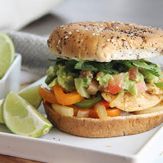 Chicken Fajita Sandwich.