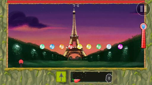 Bubble Struggle: Adventures screenshot 1