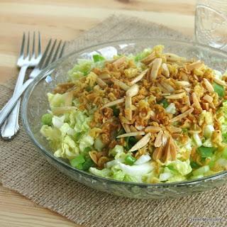 Napa Cabbage Salad Ramen Noodles Recipes.