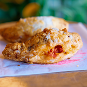 Roasted Red Pepper Turnover!