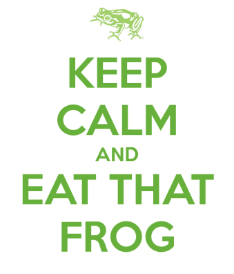 Eat the frog productivity method