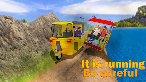 Offroad Tuk Tuk Rickshaw Driving: Tuk Tuk Games 20 apktram screenshots 3