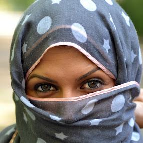by Sorin Rizu - People Portraits of Women ( blue, woman, eyes )