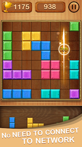 Puzzle Block Wood