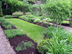 Photo: côté est du jardin