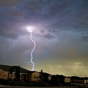 My first capture of lighting by Tim Nagle - Landscapes Weather