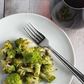Roasted Romanesco.