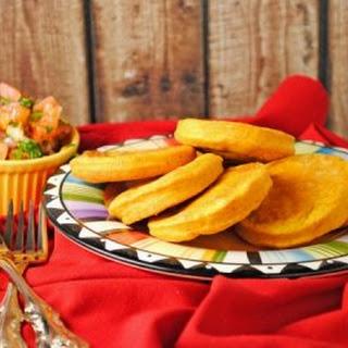 Pumpkin Sopapillas with Pico de Gallo
