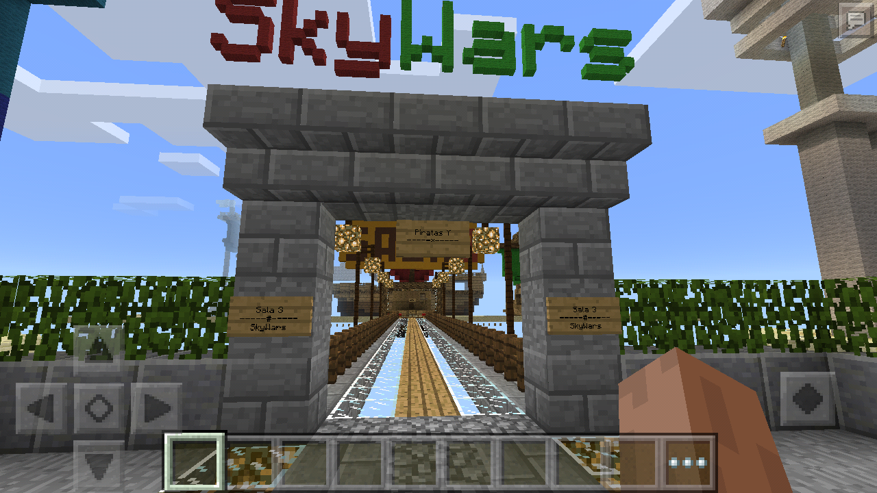 Sky wars map for minecraft pe android apps on google play sky wars map for minecraft pe screenshot gumiabroncs Choice Image