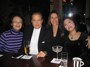 Photo: with friends at the Maduro Bar