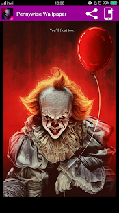 Pennywise Wallpaper-HD - náhled