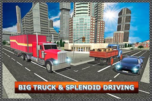 真正的卡車司機模擬器