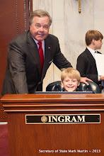 Photo: 3-27-13 Sen Ingram with Walker Cunningham