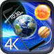 Earth & Moon: HD Gyro 3D parallax live Wallpaper Download on Windows