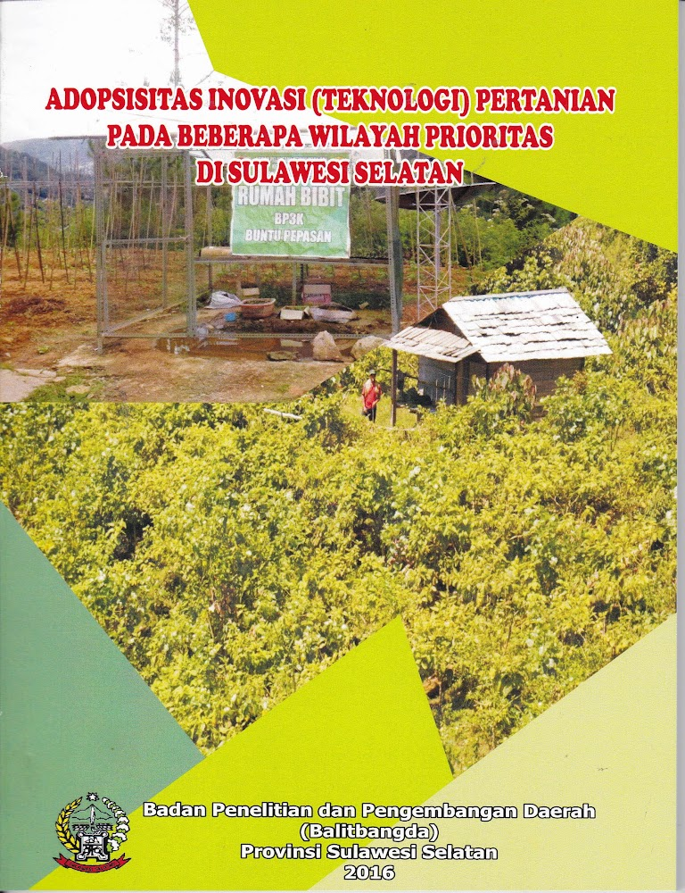 Adopsisitas Inovasi Teknologi Pertanian Pada Beberapa Wilayah