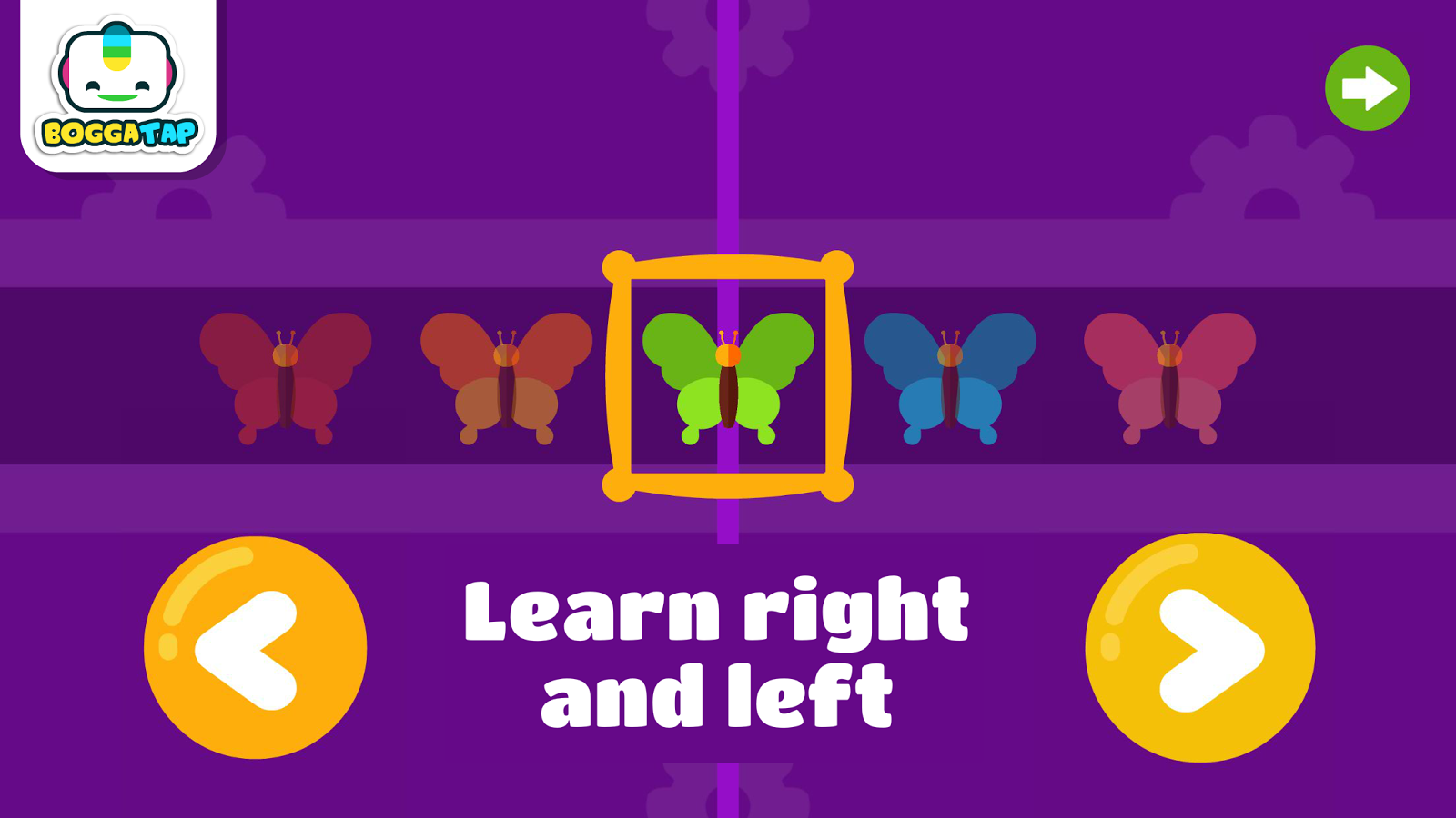 Bogga Side - Learn left right- screenshot
