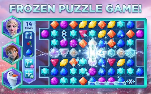Disney Frozen Adventures Mod Apk Download – A New Match 3 Android Game 5