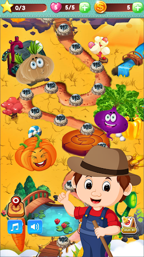 Vegetable Farm Splash Mania screenshot 4