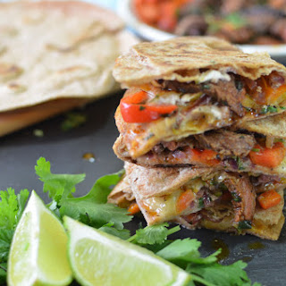Spicy Fajita Steak Quesadilla