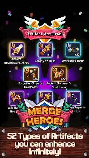 Merge Heroes Frontier: Casual RPG Online screenshots apkshin 18