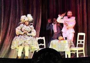 Photo: Salzburger Osterfestspiele 2015: I PAGLIACCI. Premiere 28.3.2015, Inszenierung: Philipp Stölzl. Maria Agresta, Tansel Akzeybek, Jonas Kaufmann. Copyright: Barbara Zeininger