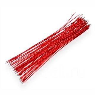 Провод монтажный 0,5 мм. кв., красный, Titan PM 0.5 (B) 100 м - Свет и  электрика во Владивостоке