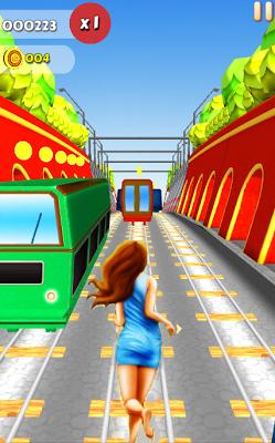 Subway Princess Run 2 - screenshot