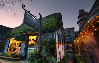 Photo: Carmel in the Evening -   I took a California road trip up Highway 1 from Los Angeles to San Francisco.  On the way is the famous little town of Carmel.  It's right by Pebble Beach, 17-mile drive, and a bunch of other amazing little places.  The town is very quaint and cool... a lovely place to walk around and explore with your camera!  This was my last shot of the night.  After this, I stopped in a small Italian restaurant to eat some tasties while I edited some photos.  This is one of my favorite things to do after a day of shooting... just relaxing... having someone bring me coffee and snacks...  headphones on... editing away.  Good times!  from the blog www.stuckincustoms.com