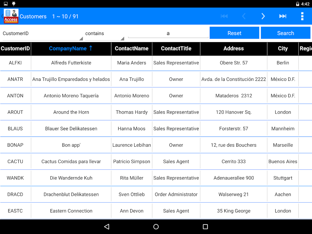 ACCDB MDB Database Manager Pro APK Cracked Free Download