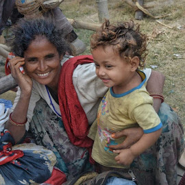 Motherhood by Sumita Mehera - People Street & Candids