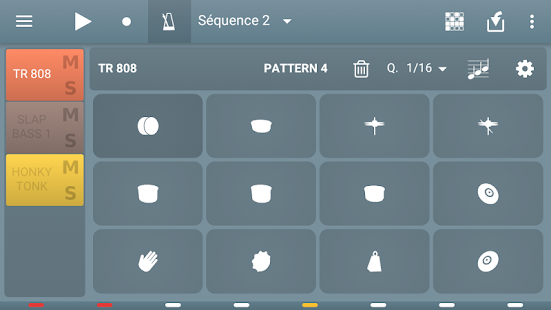 MIDI Sequencer - náhled