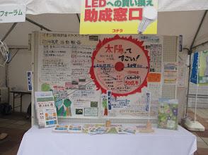 Photo: エコ活動の成果を見学。勉強になる。