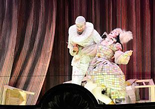 Photo: Salzburger Osterfestspiele 2015: I PAGLIACCI. Premiere 28.3.2015, Inszenierung: Philipp Stölzl.  Jonas Kaufmann,  Maria Agresta. Copyright: Barbara Zeininger