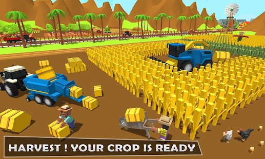 Forage Plow Farming Harvester 3: Fields Simulator - náhled