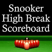 Snooker High Break Scoreboard