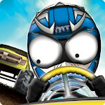 Stickman Downhill Monstertruck Icon