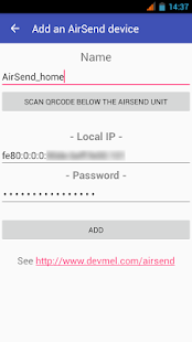 AirSend (Unreleased)- screenshot thumbnail