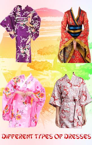 Kimono Dress Suit