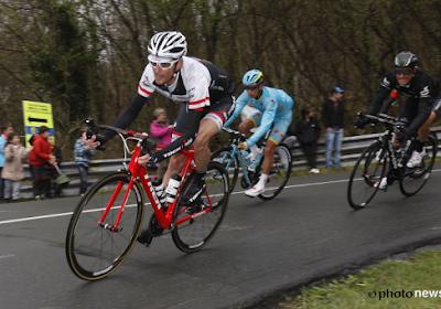 Voormalig winnaar Amstel Gold Race breekt sleutelbeen voor de vijfde keer