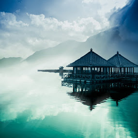 Mystic Lake by Wisnu Taranninggrat - Backgrounds Nature