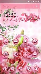 Pink Flower Theme - náhled