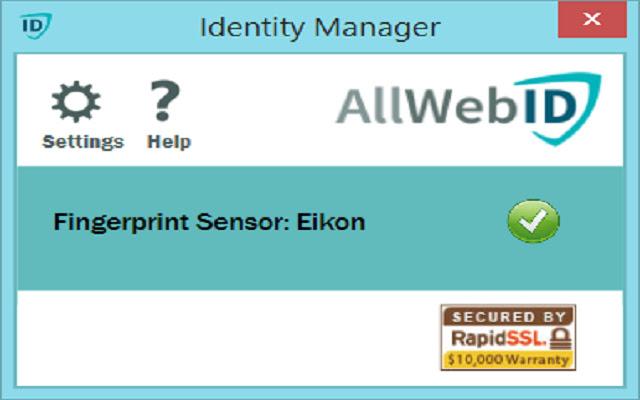 AllWebID Identity Manager Extension