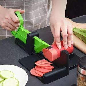 Feliator manual pentru mezeluri si legume reci
