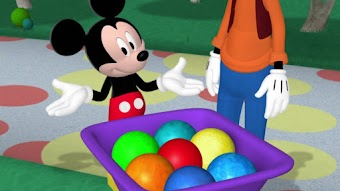 Mickey et les formes