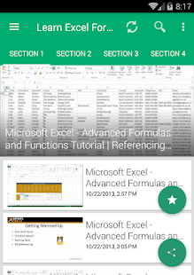 Learn MS Excel: Formulas & Functions - Apps on Google Play