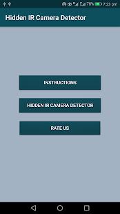 InfraDetect - Hidden IR Camera Detector - náhled